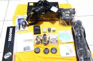 Nikon DSLR D5300 MODEL FULL SET