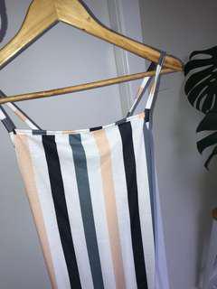 Short stripe dress