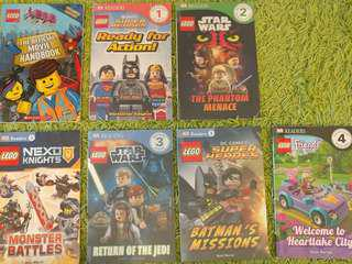 LEGO Book 書 Official Movie Handbook, Super Heroes, DC Comics, Star wars, Nexo Knights, Friends, DK Readers, for K3-P4 Age 5-9 平過書展價 Marvel 免費送嘢