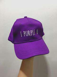'I Purple You' Baseball Cap