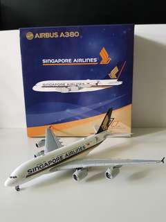 A380 Singapore Airline with 70years Livery Scale 1:400
