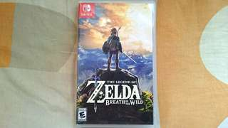 Nintendo Switch Game~ The Legend Of Zelda Breath Of The Wild ( English & Chinese Version!!!). 100% WORKING & TESTED GAME!!!.  ** PLEASE REPLY IN ENGLISH!!! 🤗 **