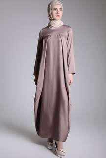 Barra Dress Plain Cappucino