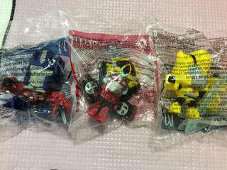 BNIB Macdonald Happy Meal Transformers Toys