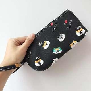 (預訂款)日本柴犬化妝袋 筆袋 電話袋