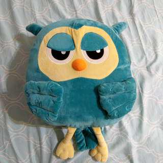 貓頭鷹暖手抱枕