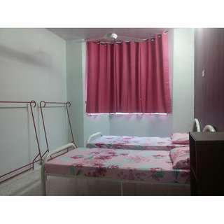 Bilik Master (sharing) Apartment Ruvena Villa, Taman Putra Perdana