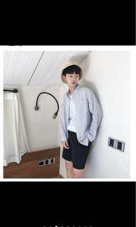 🚚 韓版條紋襯衫