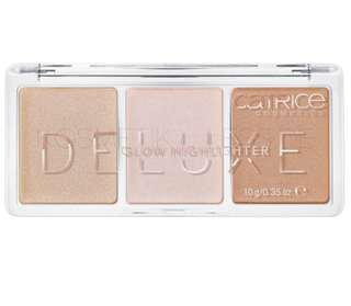 Catrice deluxe glow highlighter trio