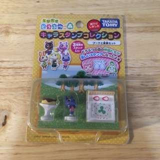 Animal Crossing New Leaf Chara Stamp Collection Bouquet Set