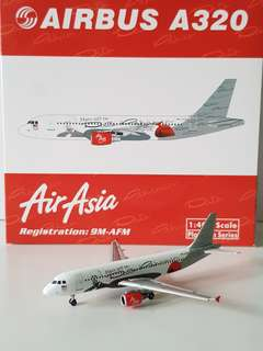 A320 AirAsia Hats Off To Dato Pahamin Livery Scale 1:400