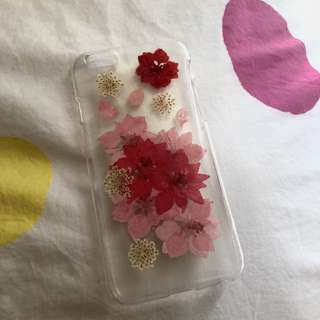 Pressed flower iPhone 6/6s case