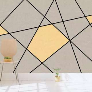 Geometry Style Mural for your wall