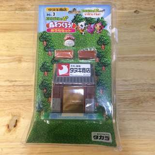 Animal Crossing Let's Build a Town! Series Shop Playsets