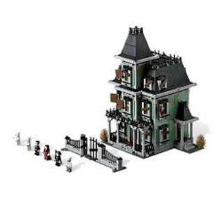Lego Compatible (Lepin) Built Modular Sets:16007 (Haunted House)