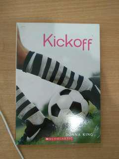 Kick off story book