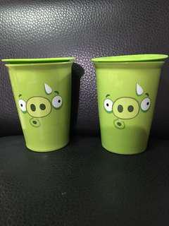 防燙雙層陶杯(2入)