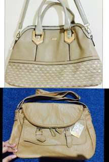 Bundle Xoxo bag and moolola bag from aussie 1900