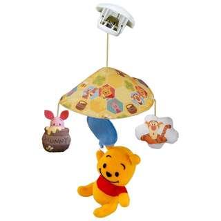 🇯🇵日本代購🇯🇵Disney Baby 蓬蓬迷你2way床鈴(Winnie the Pooh)