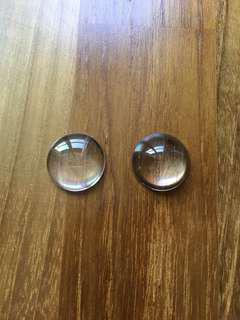 🚚 20mm Glass Dome Cabochons for pendants and accessories
