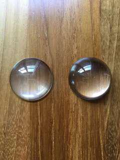 30mm Glass Dome Cabochons for Accessory and Pendant Making