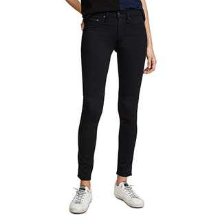 Rag & Bone Plush Legging Jeans Black 24