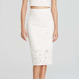 Seed Heritage Lace Pencil Skirt 6