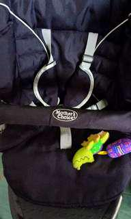 REpRICE#Preloved stroller with musical toy
