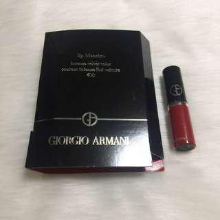 Giorgio Armani lip stain