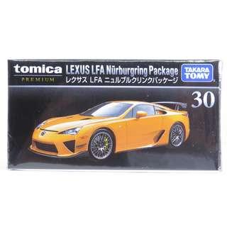 全新 Tomica Premium 30 Lexus LFA Nurburgring Package 車仔