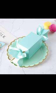 wedding favour box sweet tiffany ferrero berkat hantaran kahwin kawin