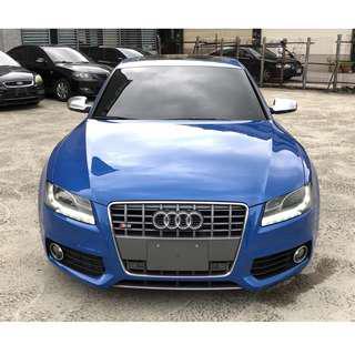 2011 Audi S5 湛藍色 V6T Sportback