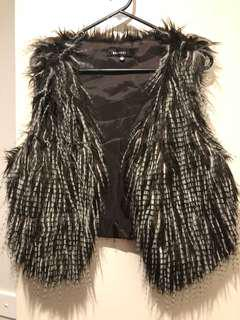 Women's vest worn twice