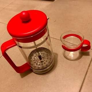 Bodum limited addition coffee / tea press w/ cup*1