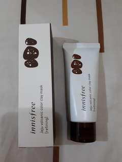 Innisfree jeju vulcanic color clay mask (refining)