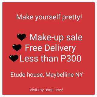 Make up FREE DELIVERY