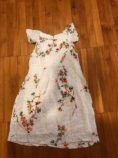 Zara flowers dress size 13/14