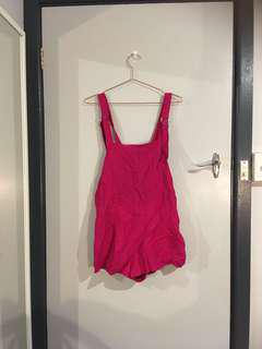Finders keepers Playsuit overalls shortall pink