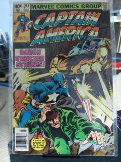 Marvel comics Captain America #247