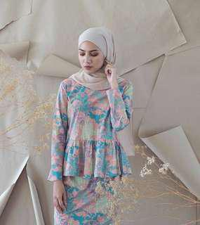 Summershop Soft Pastel Batik Set