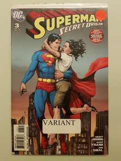 Superman Secret Origin (2010) #3 Gary Frank variant