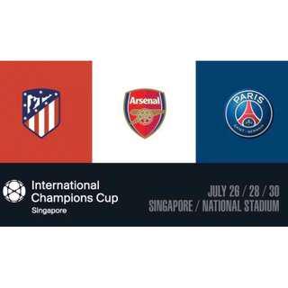 International Champions Cup: Arsenal vs PSG 1 (cat-2)