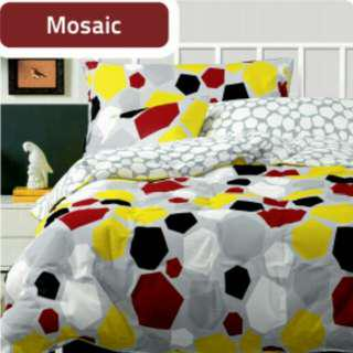 Promo bed cover novalinen single size 150x220cm