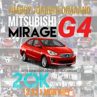 Mitsubishi Mirage G4 LOW DOWN Promo SURE Approval NO Minimum Requirements DIAL NOW! 09394948123 or 09458443741