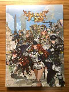 🚚 Rare Valiant Force Art Book Volume 1