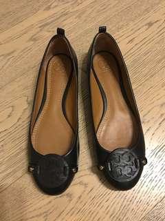 Tory Burch 平底鞋 black flat classic size 37