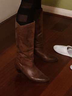 Tony Bianco tan boots