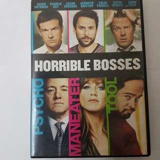DVD Horrible Bosses 邊個波士唔抵死