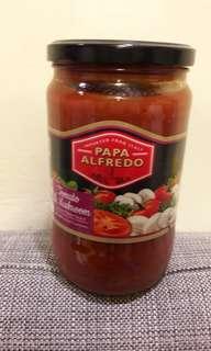 蕃茄蘑菇義大利麵醬