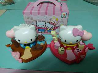 7-11 Hello Kitty be my Valentine 一套2個